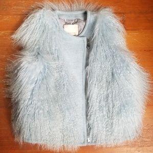 Rebecca Taylor Mongolian Lamb Vest